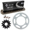 Drive Chain and Sprocket Kit for na Kawasaki KX250 42041-1104 13144-1027 42041-1384 NICHE MK1003591
