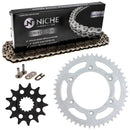 Drive Chain and Sprocket Kit for na 7771095104804 7771015104804 7771015104801 NICHE MK1003651