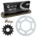 Drive Chain and Sprocket Kit for 92057-0136 92057-0117 92057-0062 13144-1126 13144-0056 NICHE MK1003714