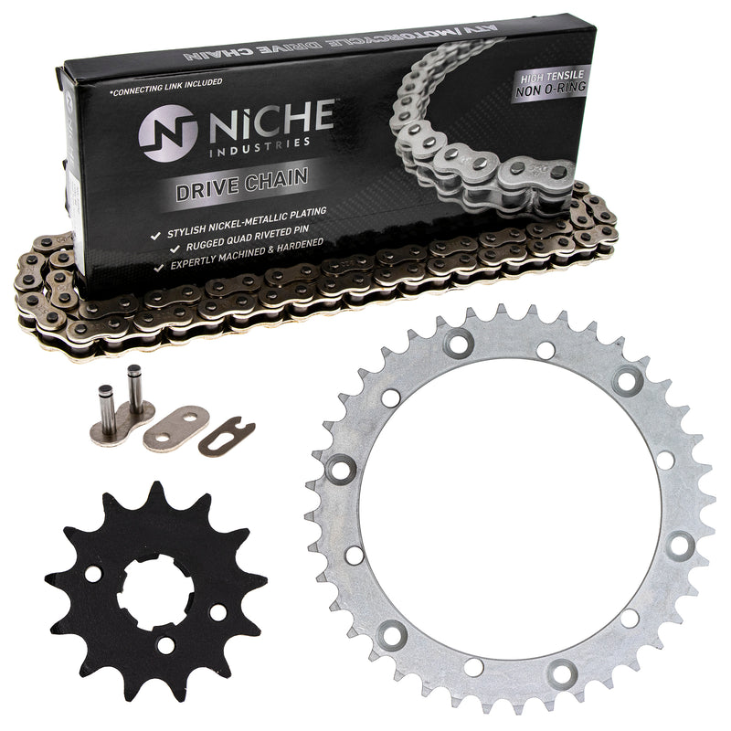 Drive Chain and Sprocket Kit for zOTHER Warrior 519-KCS0200K-K001 NICHE MK1003728