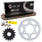 Drive Chain and Sprocket Kit for Kawasaki Ninja 519-KCS0283K-K001 NICHE MK1003811