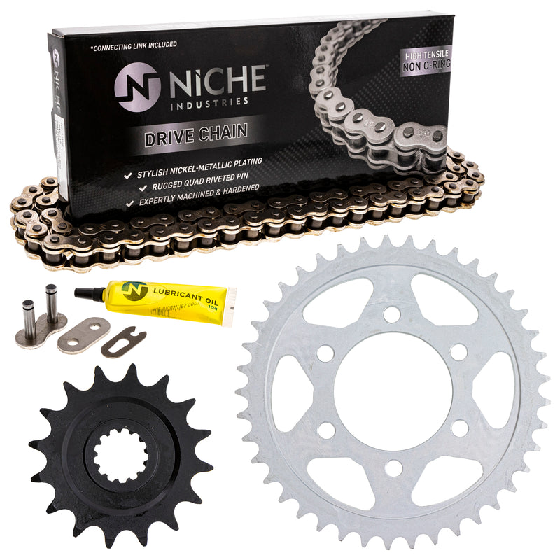 Drive Chain and Sprocket Kit for zOTHER Ninja 519-KCS0283K-K001 NICHE MK1003811