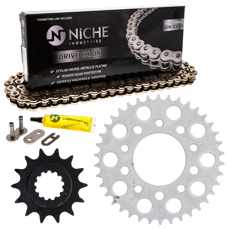Drive Chain and Sprocket Kit for zOTHER Nighthawk 519-KCS0286K-K001 NICHE MK1003814