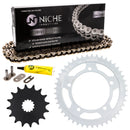 Drive Chain and Sprocket Kit for Suzuki na GSXR600X GSXR600 519-KCS0295K-K001 NICHE MK1003823