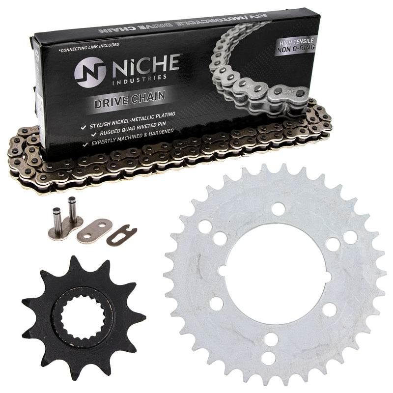 Drive Chain and Sprocket Kit for Polaris Xplorer Trail-Boss Sportsman Sport NICHE MK1003842