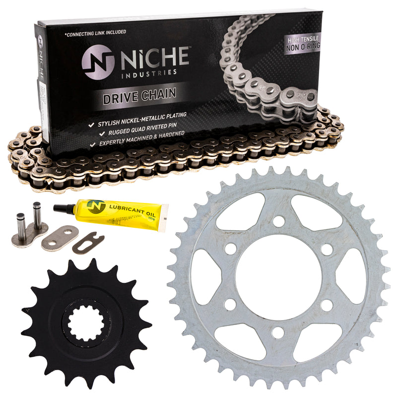 Drive Chain and Sprocket Kit for zOTHER Ninja 519-KCS0322K-K001 NICHE MK1003850