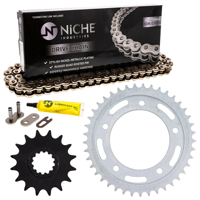 Drive Chain and Sprocket Kit for zOTHER YZF 519-KCS0341K-K001 NICHE MK1003869