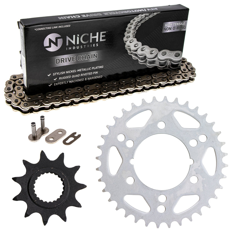 Drive Chain and Sprocket Kit for zOTHER Trail-Blazer Magnum 519-KCS0369K-K001 NICHE MK1003897