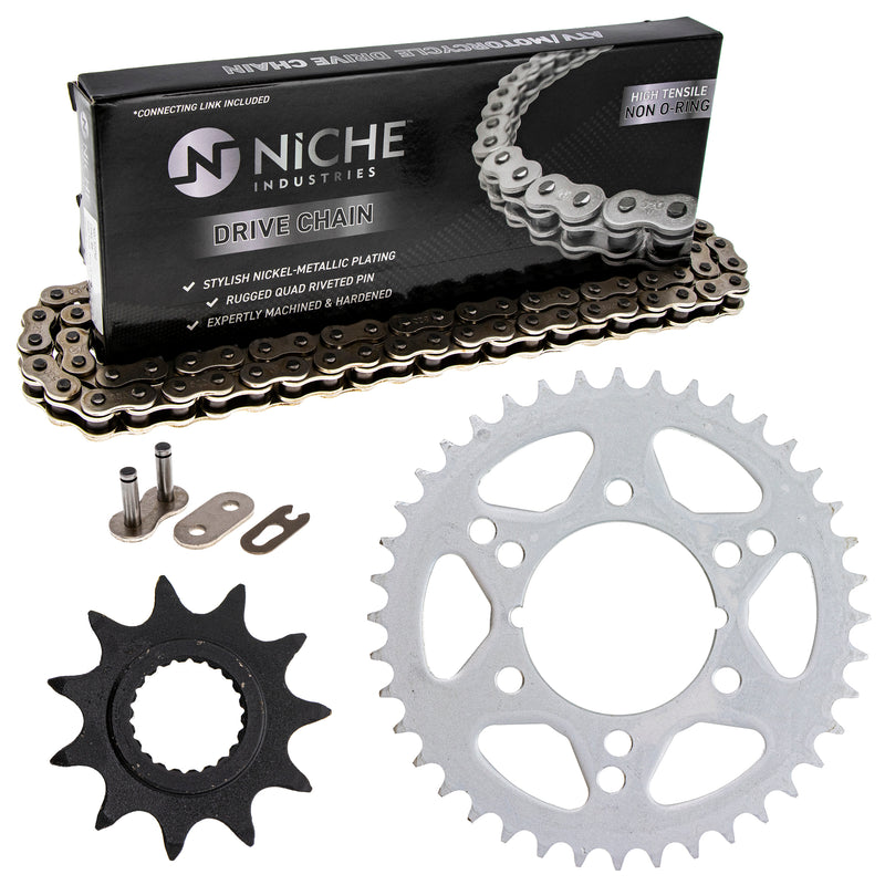 Drive Chain and Sprocket Kit for zOTHER Trail-Boss Trail-Blazer 519-KCS0382K-K001 NICHE MK1003910