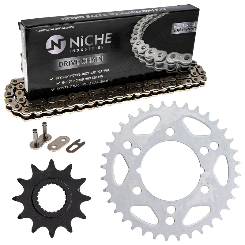 Drive Chain and Sprocket Kit for Polaris Magnum 519-KCS0384K-K001 NICHE MK1003912