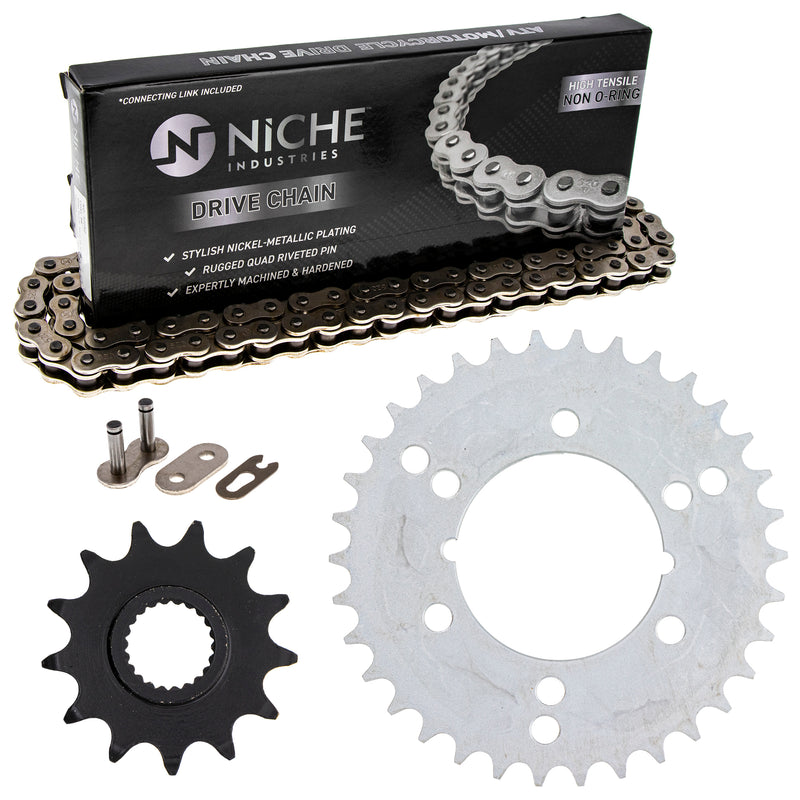 Drive Chain and Sprocket Kit for zOTHER Xpress Trail-Boss Trail-Blazer 519-KCS0385K-K001 NICHE MK1003913