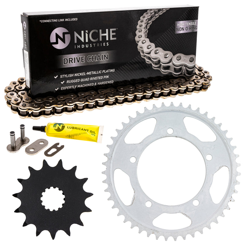 Drive Chain and Sprocket Kit for zOTHER Vstrom 519-KCS0396K-K001 NICHE MK1003924