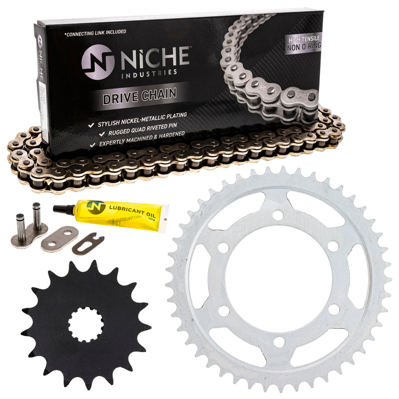 Drive Chain and Sprocket Kit for zOTHER 519-KCS0400K-K001 NICHE MK1003928