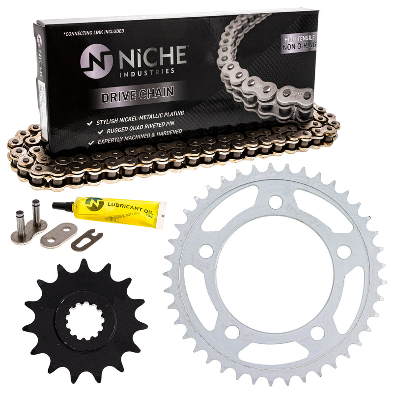 Drive Chain and Sprocket Kit for zOTHER 519-KCS0404K-K001 NICHE MK1003932