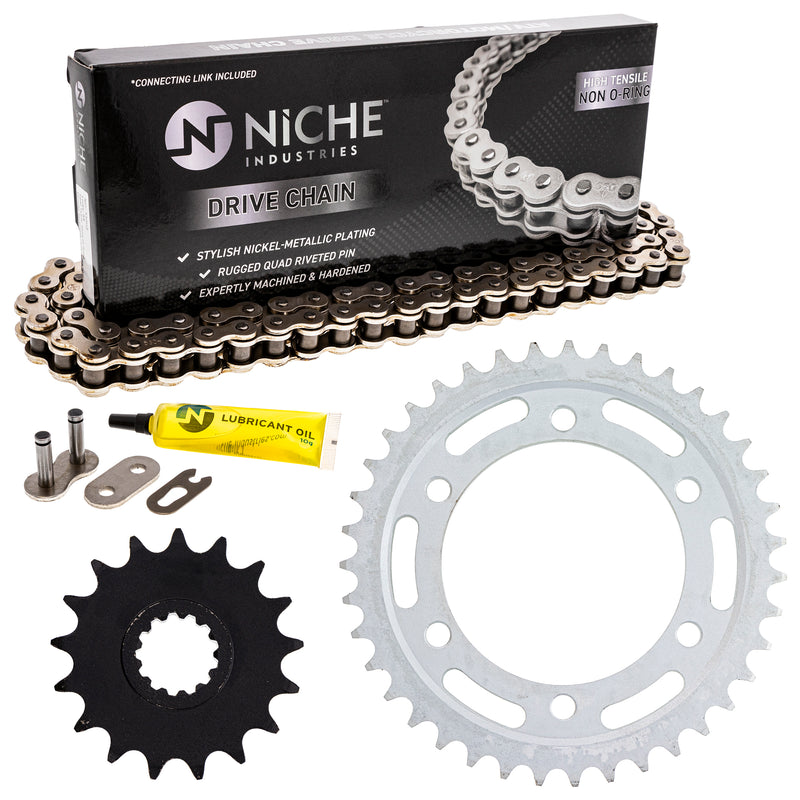 Drive Chain and Sprocket Kit for zOTHER 519-KCS0413K-K001 NICHE MK1003941
