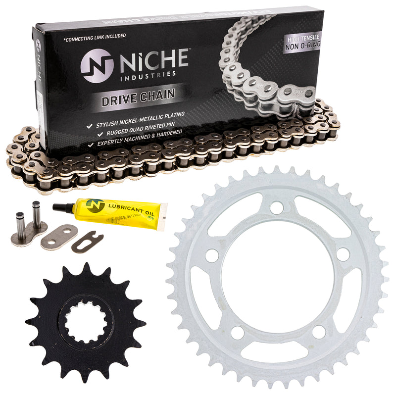 Drive Chain and Sprocket Kit for zOTHER CB900F 519-KCS0416K-K001 NICHE MK1003944