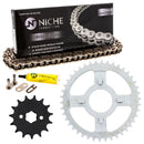 Drive Chain and Sprocket Kit for zOTHER Honda XL100S 23801-436-000 405W3-KA8-505 NICHE MK1003965