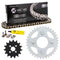 Drive Chain and Sprocket Kit for zOTHER Kawasaki Honda 23800-098-000 92057-1513 NICHE MK1003969
