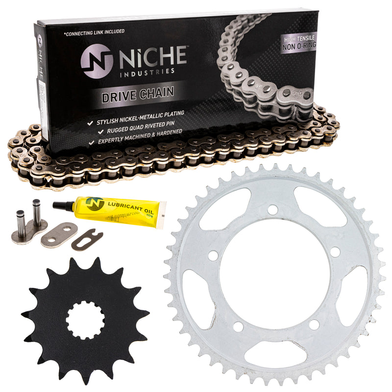 Drive Chain and Sprocket Kit for zOTHER Vstrom 519-KCS0448K-K001 NICHE MK1003976