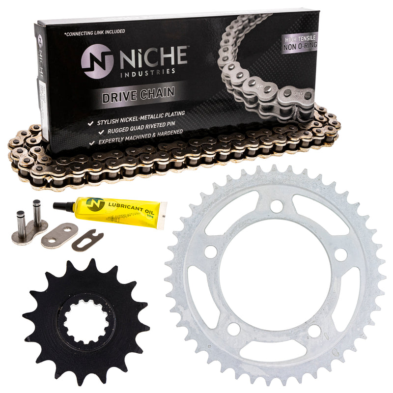 Drive Chain and Sprocket Kit for zOTHER 519-KCS0450K-K001 NICHE MK1003978