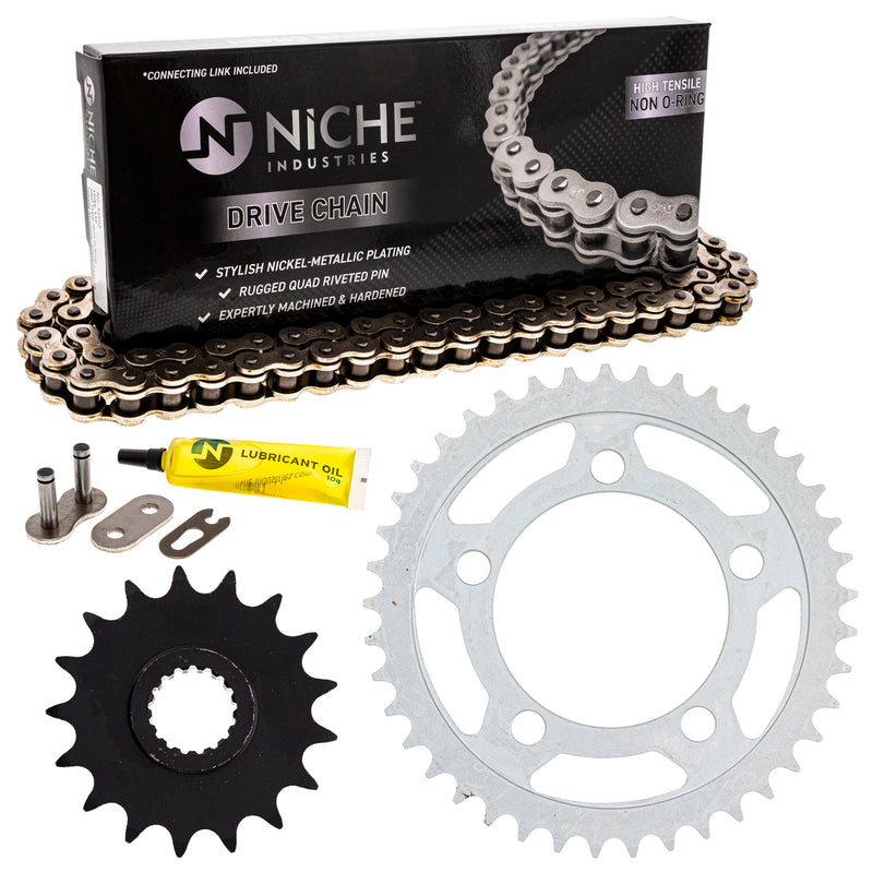 Drive Chain and Sprocket Kit for zOTHER 990 950 519-KCS0453K-K001 NICHE MK1003981