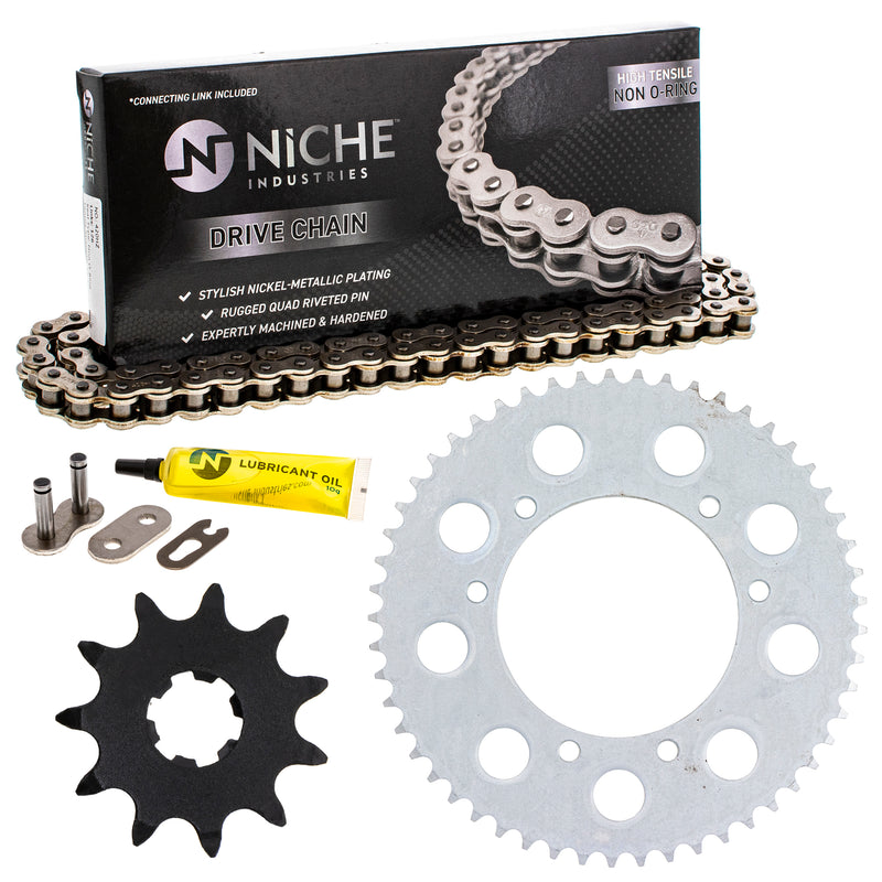 Drive Chain and Sprocket Kit for Honda 40540-KSE-003 40530-GBF-B01 NICHE MK1003984