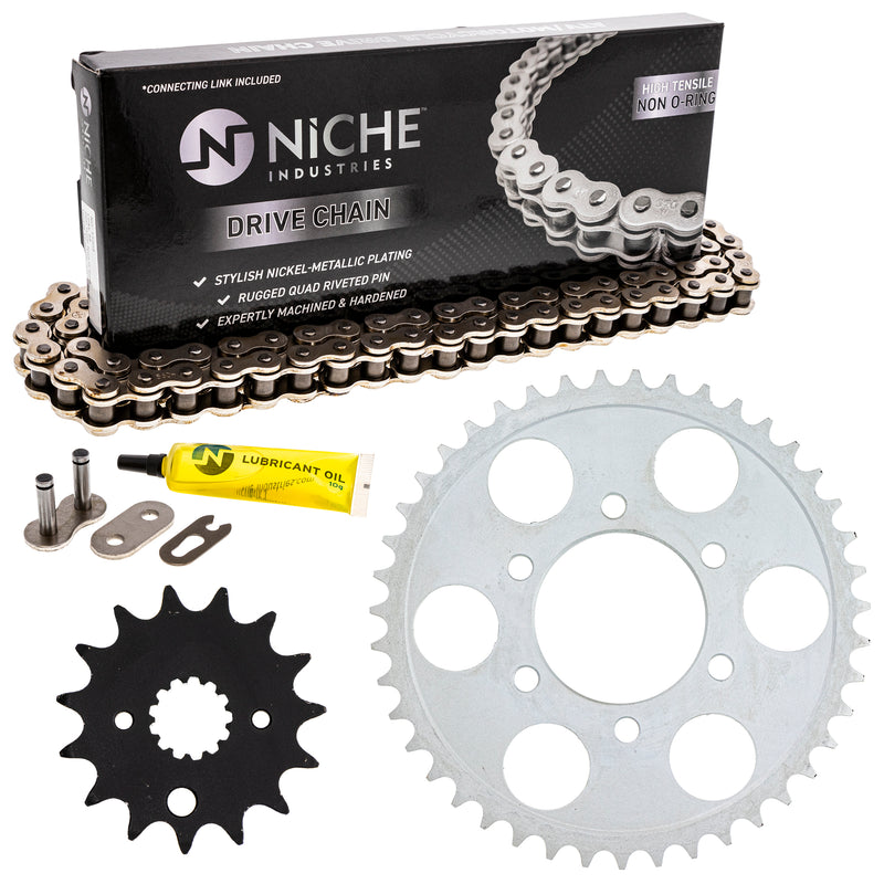 Drive Chain and Sprocket Kit for zOTHER GSXR750 519-KCS0486K-K001 NICHE MK1004014