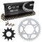Drive Chain and Sprocket Kit for Polaris 12822591195196 Trail-Boss 519-KCS0497K-K001 NICHE MK1004025