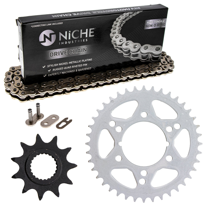 Drive Chain and Sprocket Kit for zOTHER Trail-Boss 519-KCS0497K-K001 NICHE MK1004025