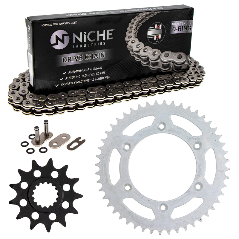 Drive Chain and Sprocket Kit for na 7771095104804 7771015104804 7771015104801 NICHE MK1004176