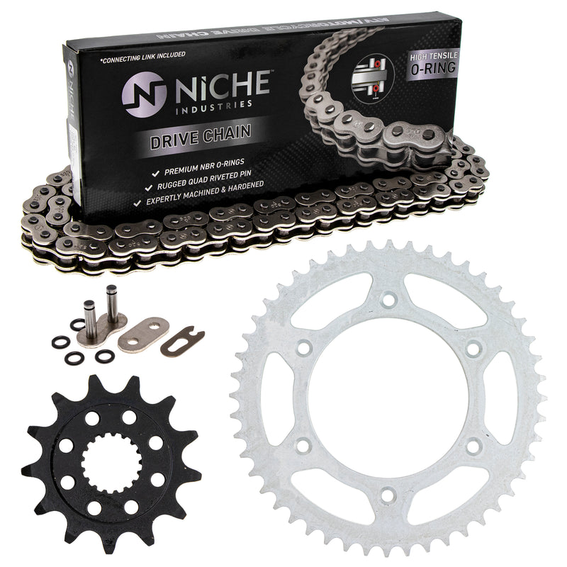 Drive Chain and Sprocket Kit for zOTHER Honda CRF450RX CRF450R CR250R 23802-MEN-730 NICHE MK1004201