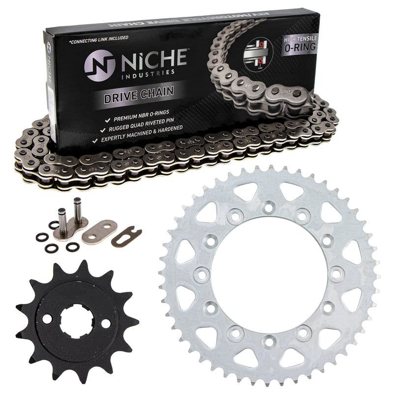Drive Chain and Sprocket Kit for zOTHER Honda XR250R 23801-KPS-900 41201-MG3-505 NICHE MK1004234