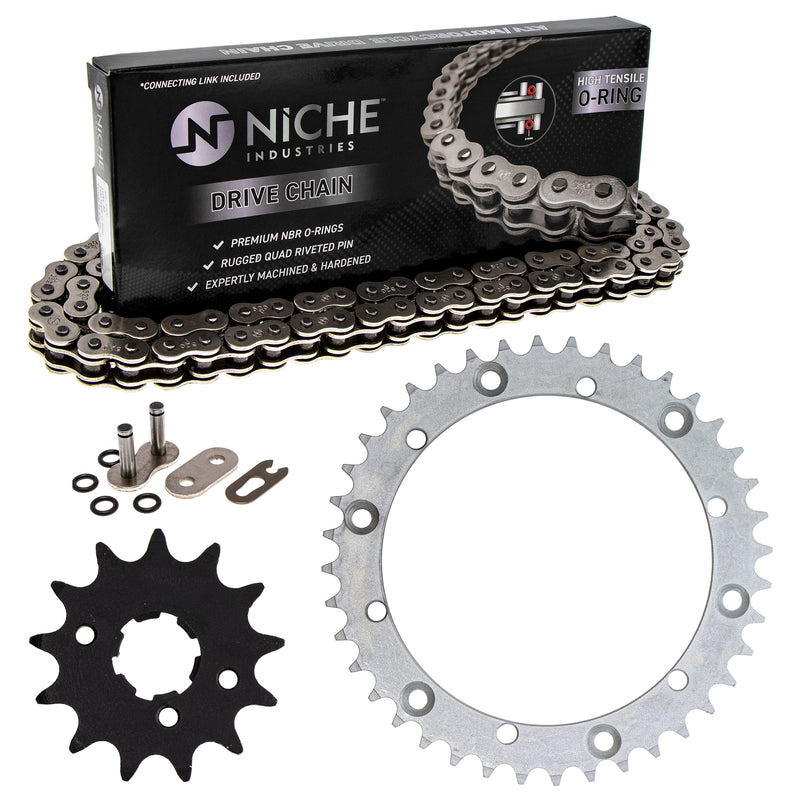 Drive Chain and Sprocket Kit for zOTHER Warrior 519-KCS0725K-K001 NICHE MK1004253