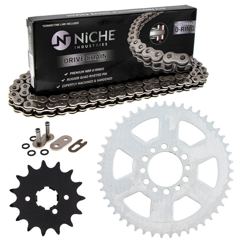 Drive Chain and Sprocket Kit for Yamaha XT250 519-KCS0727K-K001 NICHE MK1004255