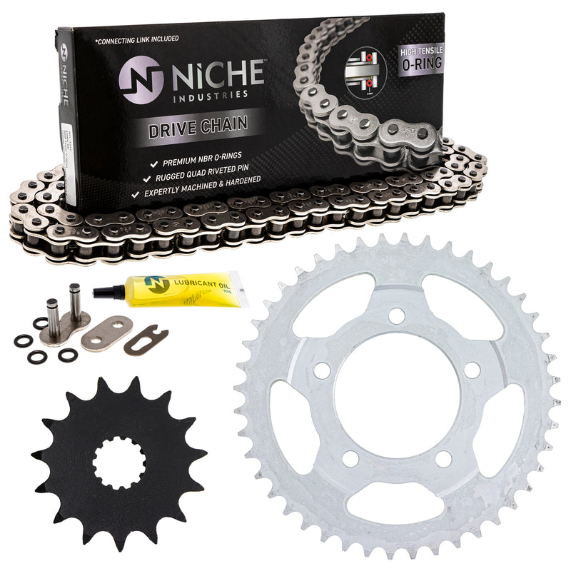 Drive Chain and Sprocket Kit for zOTHER SV650 519-KCS0799K-K001 NICHE MK1004327