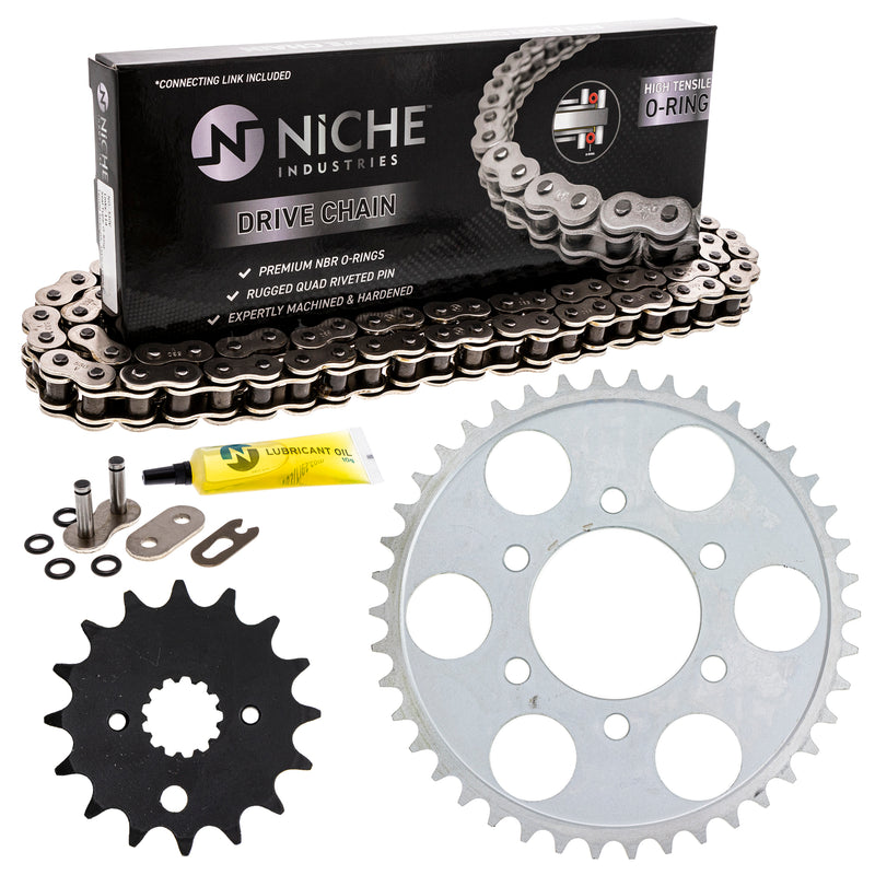 Drive Chain and Sprocket Kit for zOTHER 519-KCS0815K-K001 NICHE MK1004343