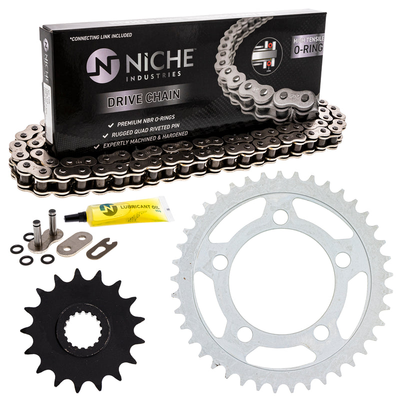 Drive Chain and Sprocket Kit for zOTHER 990 950 519-KCS0832K-K001 NICHE MK1004360