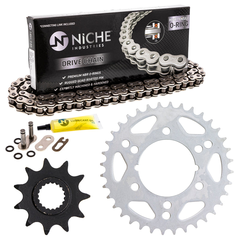 Drive Chain and Sprocket Kit for zOTHER Scrambler 519-KCS0874K-K001 NICHE MK1004402