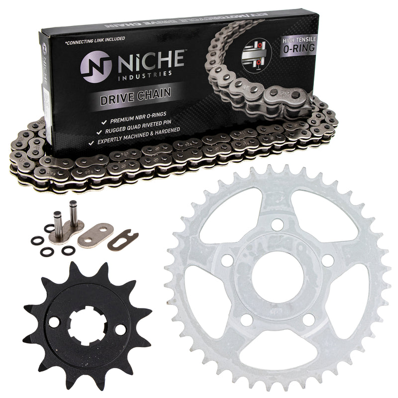 Drive Chain and Sprocket Kit for zOTHER ATC200X 519-KCS0891K-K001 NICHE MK1004419