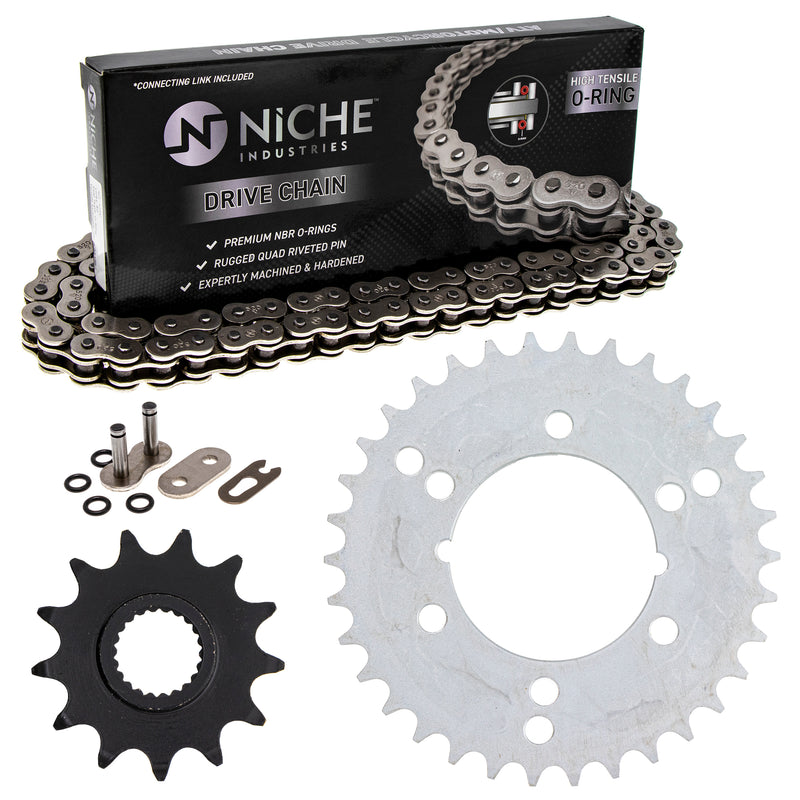 Drive Chain and Sprocket Kit for zOTHER Xpress Trail-Boss Trail-Blazer 519-KCS0910K-K001 NICHE MK1004438