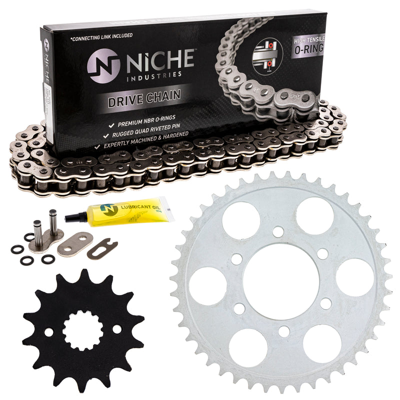 Drive Chain and Sprocket Kit for 519-KCS0933K-K001 NICHE MK1004461