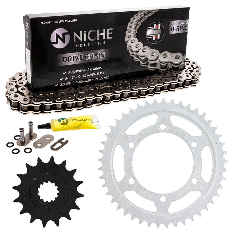 Drive Chain and Sprocket Kit for zOTHER YZF 519-KCS0937K-K001 NICHE MK1004465