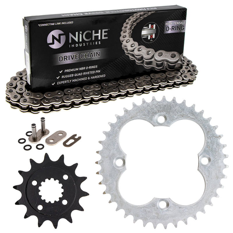 Drive Chain and Sprocket Kit for zOTHER TRX400X Sportrax 519-KCS0944K-K001 NICHE MK1004472