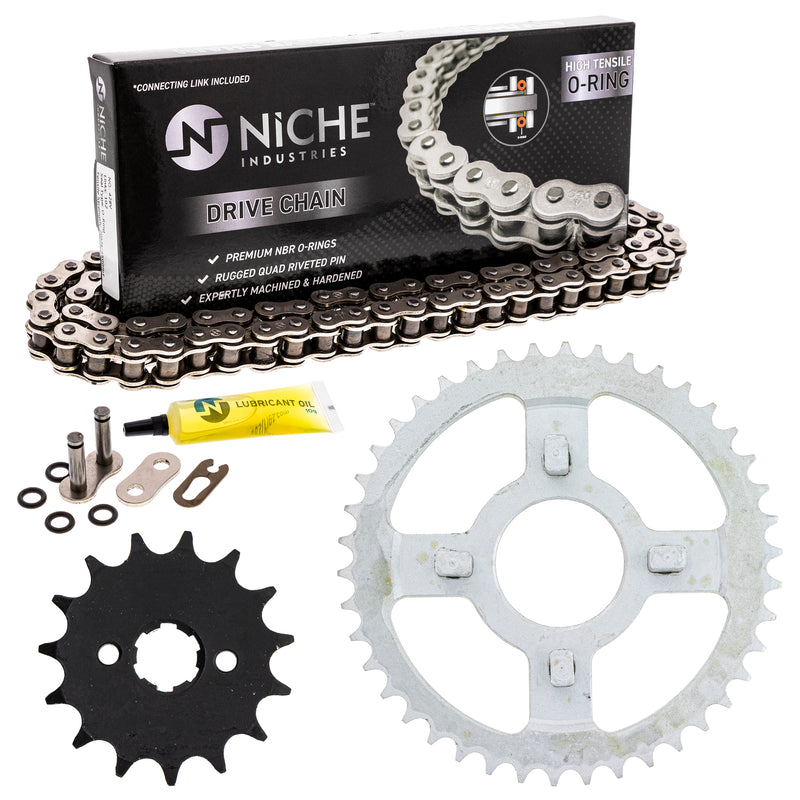 Drive Chain and Sprocket Kit for zOTHER Honda XL100S 23801-436-000 405W3-KA8-505 NICHE MK1004490