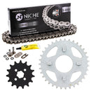Drive Chain and Sprocket Kit for zOTHER Kawasaki Honda 23800-098-000 92057-1513 NICHE MK1004494