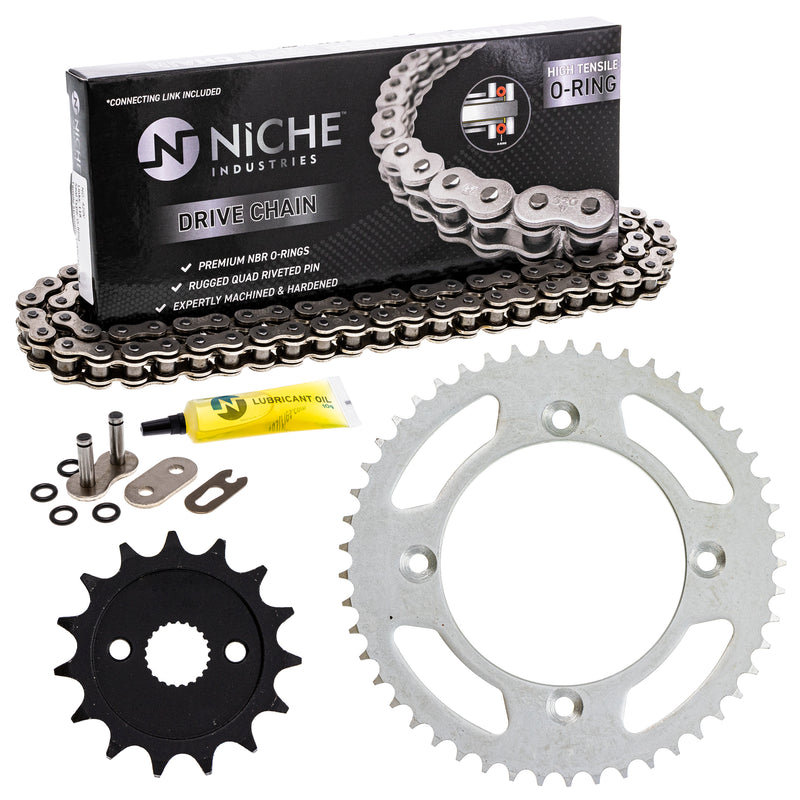 Drive Chain and Sprocket Kit for zOTHER Yamaha Honda CR85R CR80R 9Y581-97115-00 NICHE MK1004497