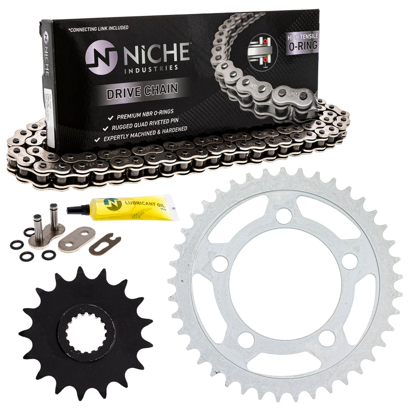 Drive Chain and Sprocket Kit for zOTHER 990 950 519-KCS0978K-K001 NICHE MK1004506