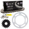 Drive Chain and Sprocket Kit for na KTM 990 1290 1190 1090 519-KCS0979K-K001 NICHE MK1004507