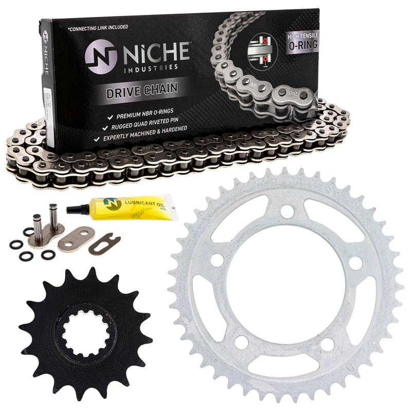 Drive Chain and Sprocket Kit for zOTHER CBR900RR 519-KCS1004K-K001 NICHE MK1004532