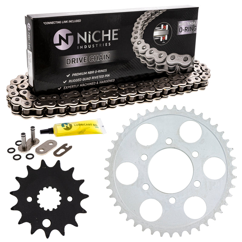 Drive Chain and Sprocket Kit for zOTHER GSXR750 519-KCS1011K-K001 NICHE MK1004539